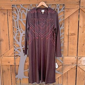 Tribal Embroidered Duster